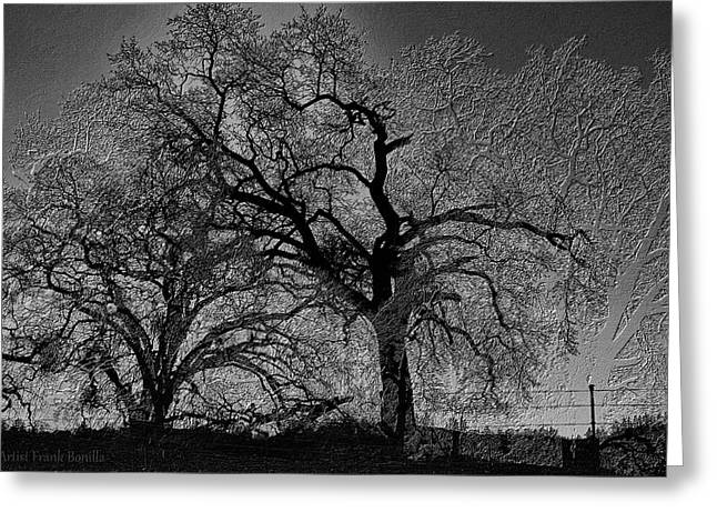 Tree Night II Greeting Card