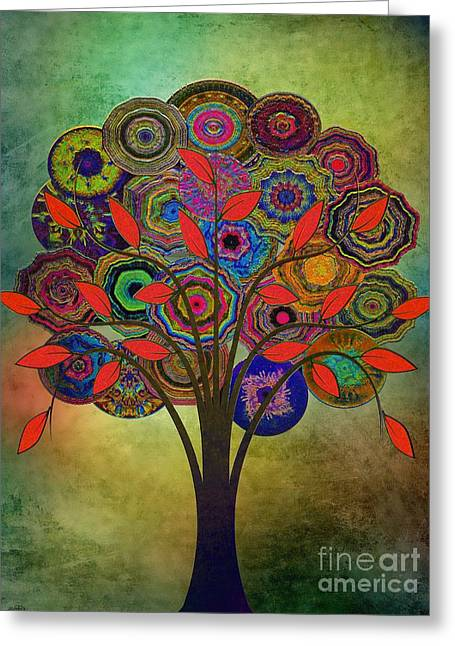 Tree Of Life 2. Version Greeting Card