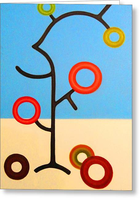Tree Of Life Greeting Card by Alexander Almark