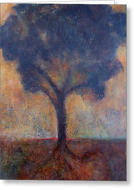 Tree Of Life Greeting Card by Jean Rodak