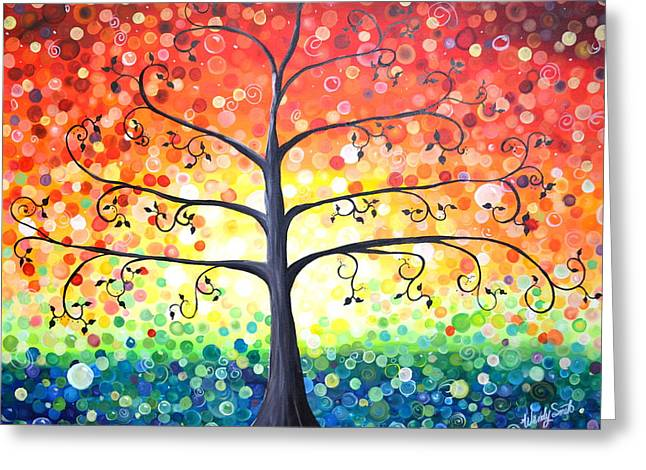 Tree Of Promises Greeting Card by Wendy Smith