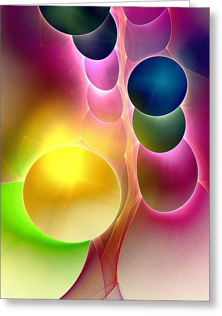 Tree Of Wonders Greeting Card