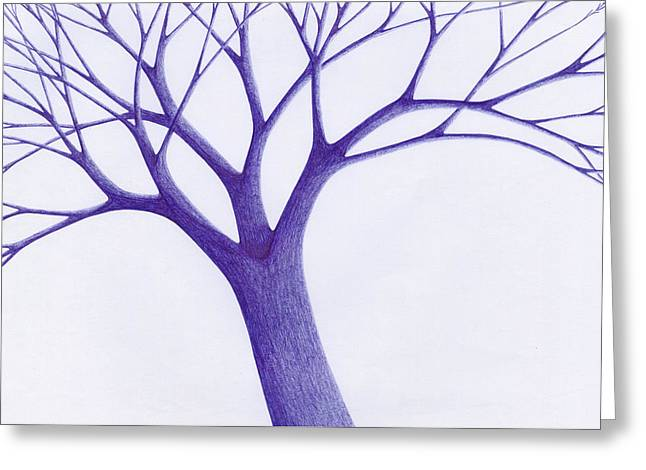 Tree - The Great Hand Of Nature Greeting Card by Giuseppe Epifani