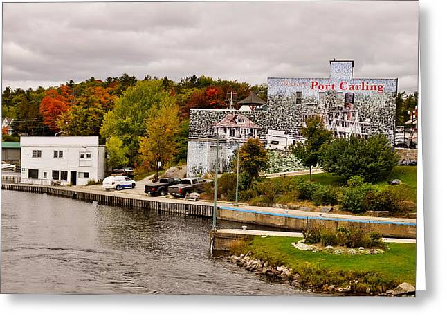 Trees On A Hill, Port Carling, Muskoka Greeting Card by Panoramic Images