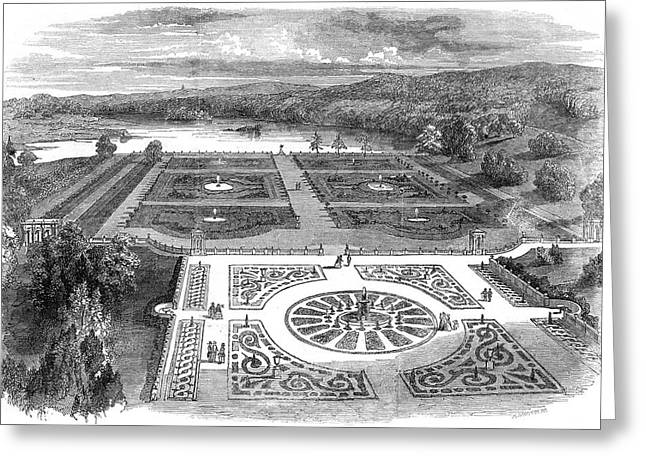 Trentham Hall, Staffordshire - Greeting Card by  Illustrated London News Ltd/Mar