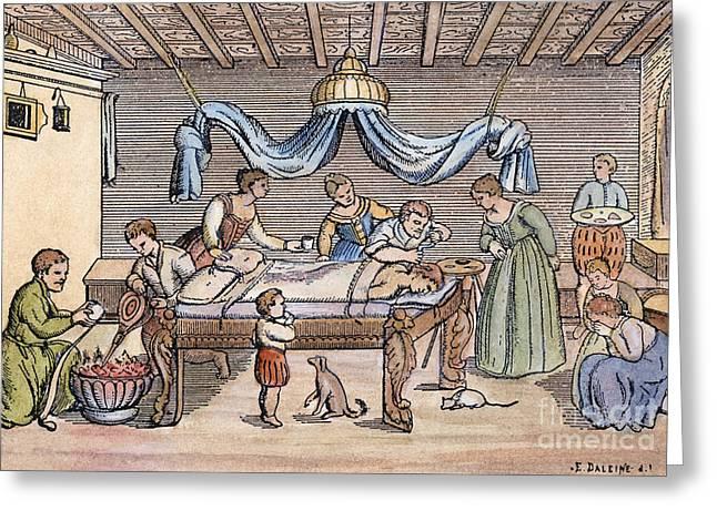 Trephining, 16th Century Greeting Card