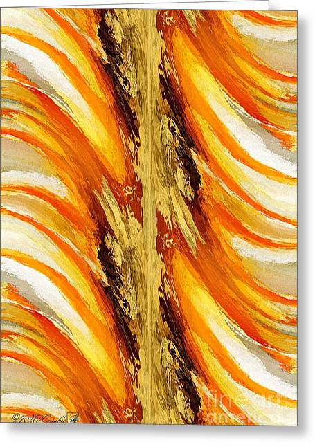 Trepolo Abstract Greeting Card by J McCombie