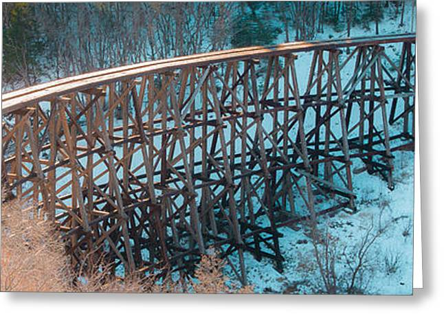 Trestle Rebuild Greeting Card