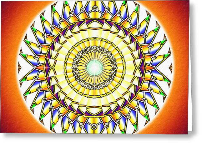 Tribal Magnetism Greeting Card