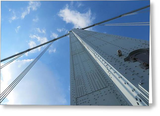 Triborough Bridge Greeting Card by Kenneth Summers