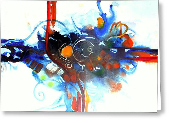 Tribute To Chihuly Greeting Card