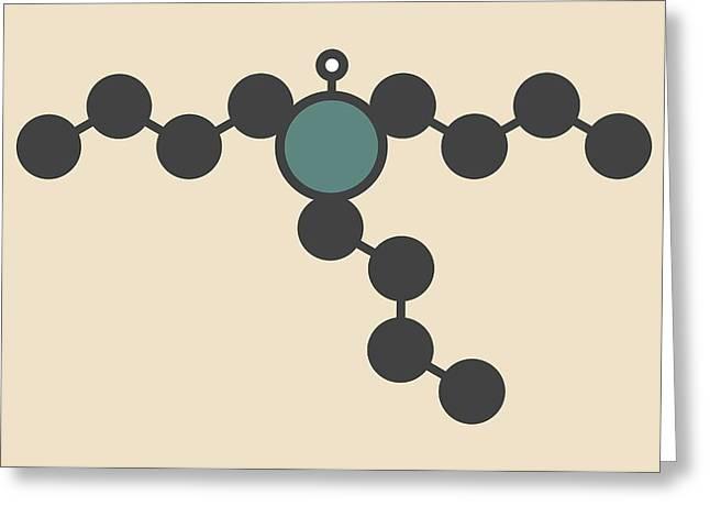 Tributyltin Hydride Molecule Greeting Card by Molekuul