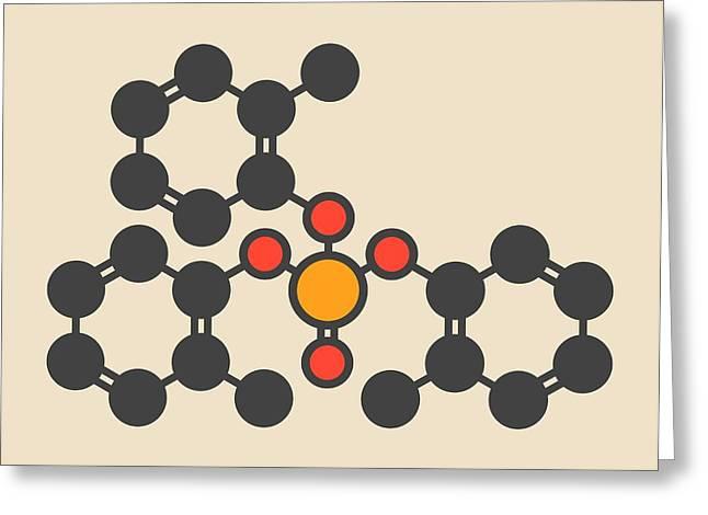 Tricresyl Phosphate Molecule Greeting Card