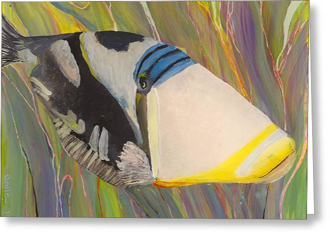 Triggerfish 2 Greeting Card