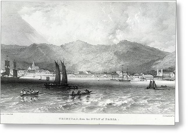 Trinidad Greeting Card by British Library