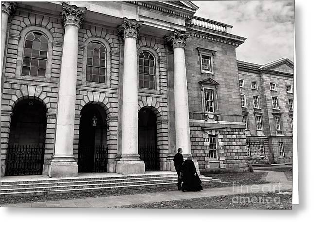 Trinity College Examination Hall Greeting Card