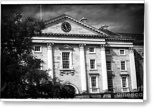 Trinity College Greeting Card by John Rizzuto