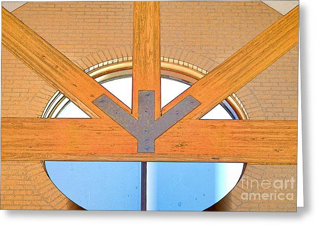 Trinity Series  2 Greeting Card by Luther Fine Art