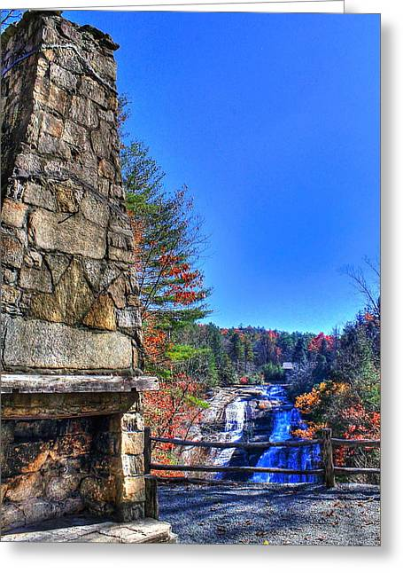 Triple Falls 2 Greeting Card