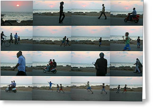 Tripoli Sunset Greeting Card
