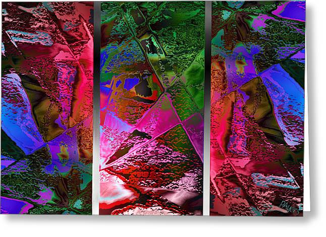 Triptych Chic Greeting Card