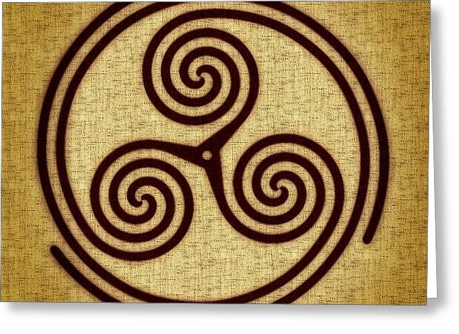 Triskelion  Greeting Card