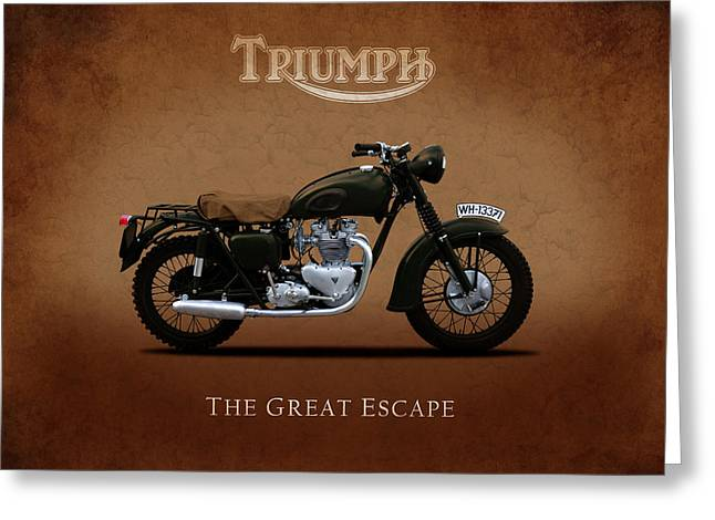 Triumph - The Great Escape Greeting Card by Mark Rogan