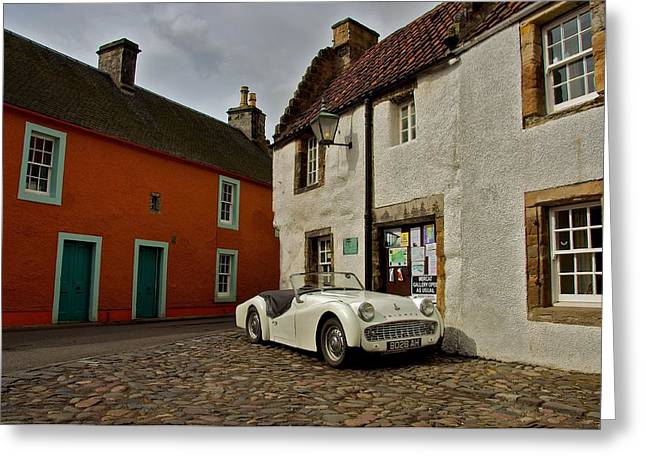 Greeting Card featuring the photograph Triumph Tr3 by Stephen Taylor