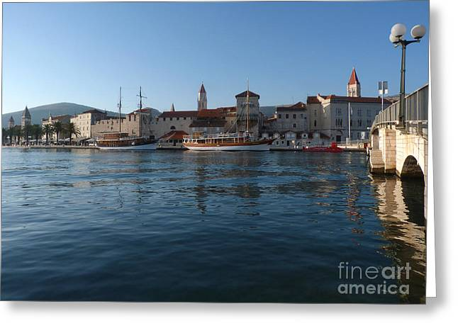 Trogir Old Town - Croatia Greeting Card
