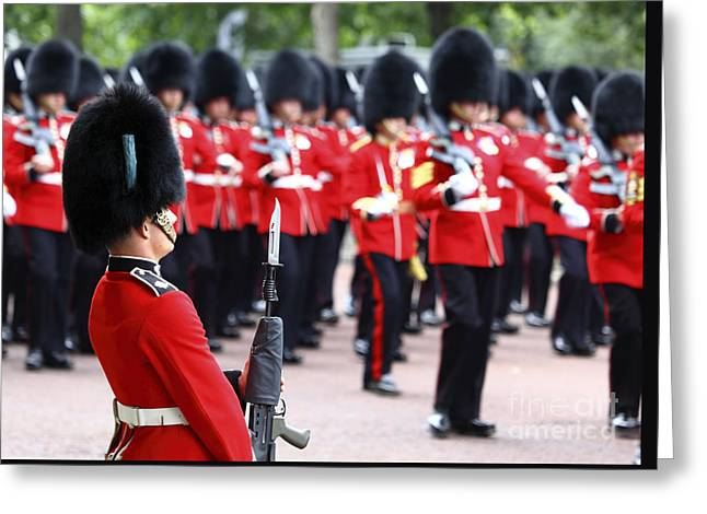 Trooping The Colour London Greeting Card by James Brunker