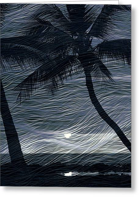 Greeting Card featuring the photograph Tropical Breeze by Athala Carole Bruckner