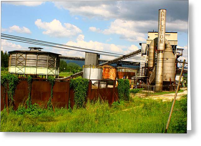Greeting Card featuring the photograph Tropical Distillery by Jon Emery