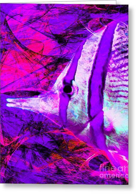 Tropical Fish 5d24879m88 Greeting Card