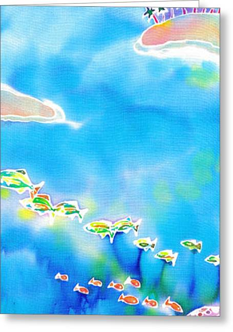 Tropical Fishes Greeting Card