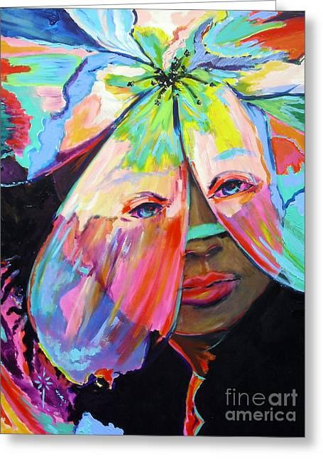 Tropical Greeting Card by Jodie Marie Anne Richardson Traugott          aka jm-ART