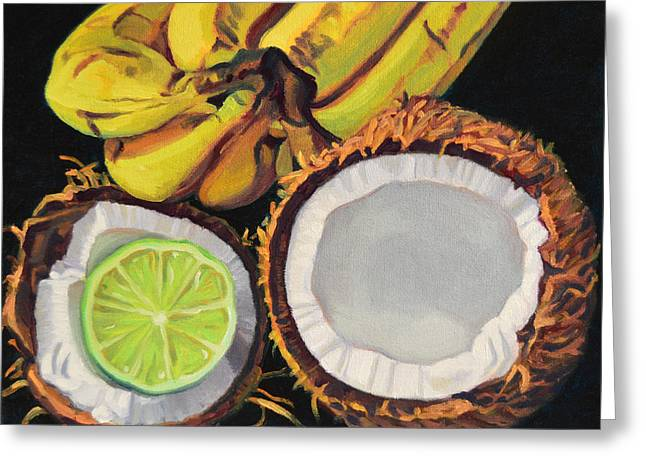 Tropical Greeting Card by Kenneth Cobb