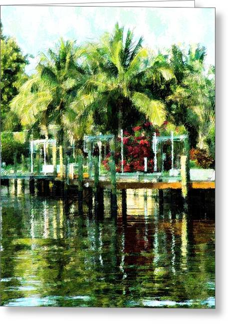 Tropical Living Greeting Card