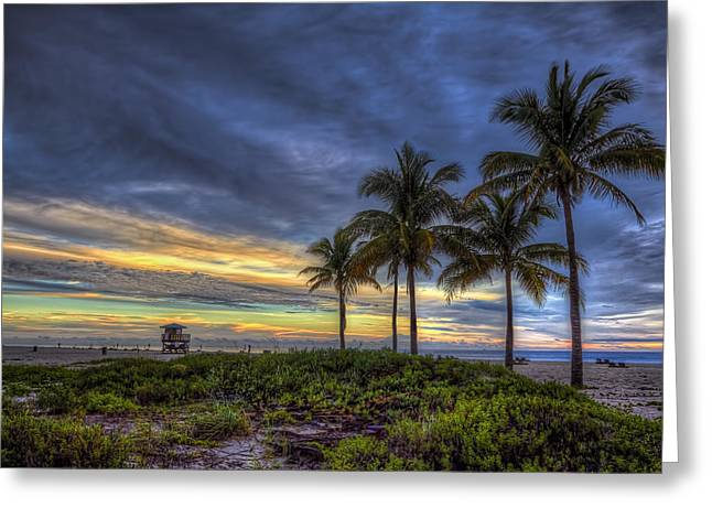 Tropical Morning Greeting Card by Island Photos