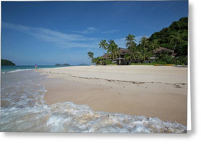 Tropical Paradise Greeting Card by Mark Gottlieb/vwpics