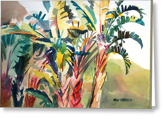 Tropical Punch Greeting Card