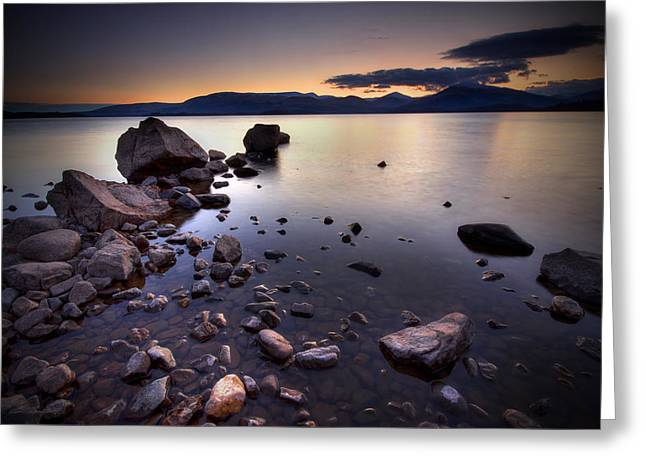 Trossachs Loch Lomond Greeting Card