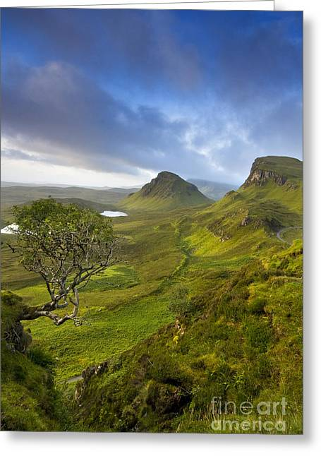 Trotternish Ridge Greeting Card