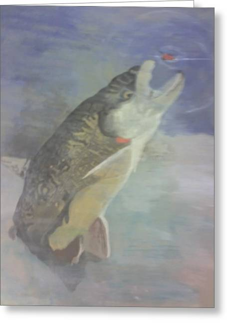 Trout To Fly Greeting Card by Stephen Thomson