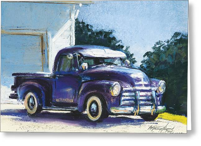 Truck Greeting Card by Beverly Amundson