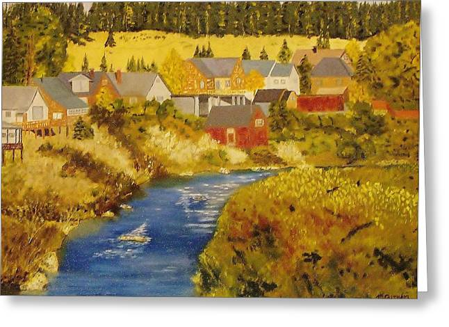 Truckee River - Truckee Ca Greeting Card