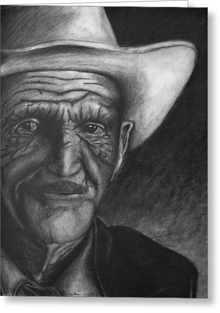 True Cowboy Greeting Card by Jay Alldredge