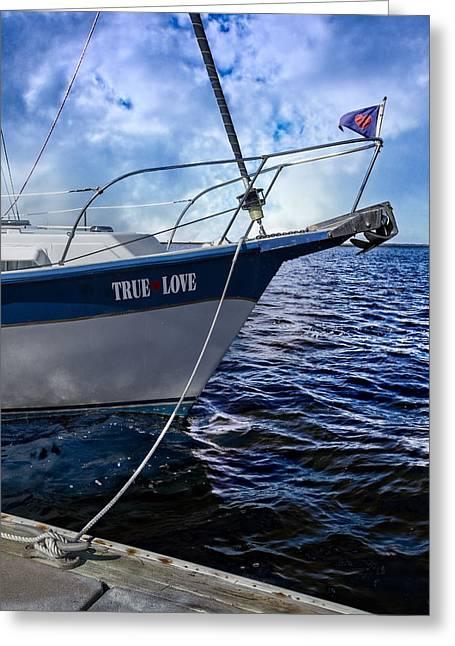 True Love Greeting Card by Debra and Dave Vanderlaan