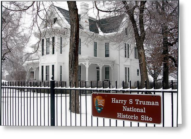 Truman Home Winter 2007 Greeting Card