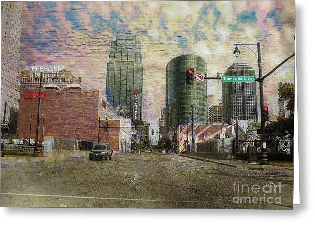 Greeting Card featuring the photograph Truman Road Kansas City Missouri by Liane Wright