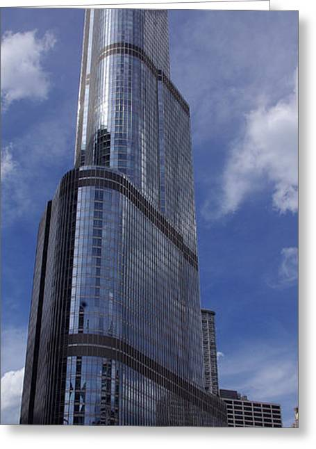 Trump Tower Chicago Greeting Card